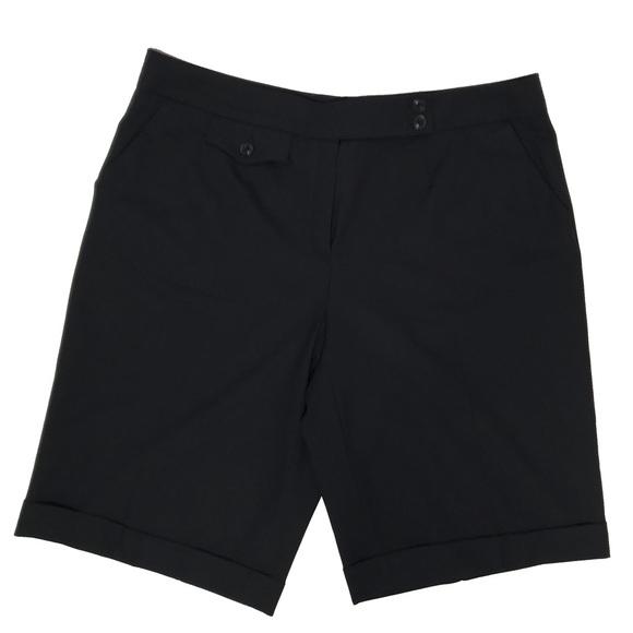 Escada Pants - Escada High Waist Wool Shorts